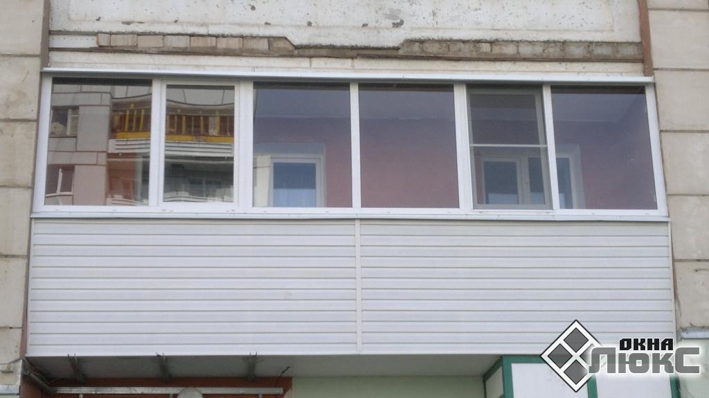 """Цена на балконы пвх компания """"окна люкс""""."""